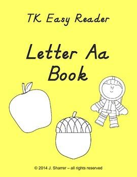 TK Easy Alphabet Reader -- Letter Aa