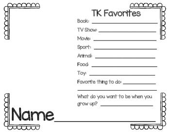 TK Favorites!!!