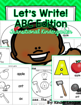 TK Let's Write! ABC Edition by KL