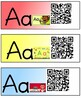 Letter Aa - QR Codes in TK