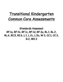 TK and Kindergarten Assessments