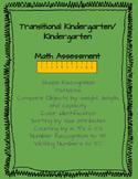 TK and Kindergarten Math Assessment