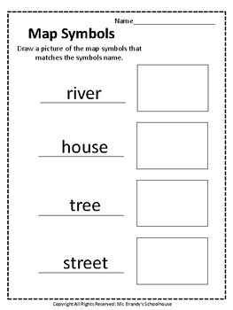Confortable Map Activity Worksheets for First Grade About ...