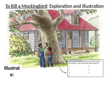 To Kill a Mockingbird Knothole Exploration and Illustration