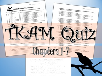To Kill a Mockingbird Quiz Ch.1-7