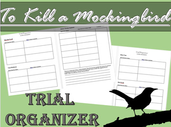 To Kill a Mockingbird Trial Organizer