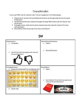 TKAM UNIT: Characterization with Emojis