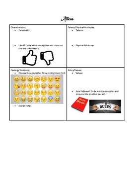 TKAM UNIT: Characterization with Emojis
