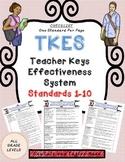 TKES Standards 1-10 Checklist
