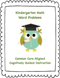 Kindergarten Math Word Problems