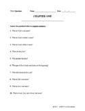 TKaM Chapter One - Worksheet