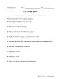 TKaM Chapter Two - Worksheet