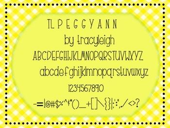 TL PEGGYANN font