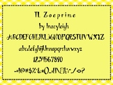 TL Zoeprime Font