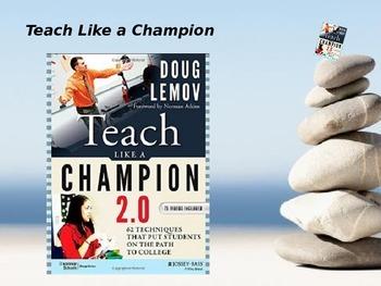 Teach Like A Champion Do Now Technique - 2 hour PD for Teachers