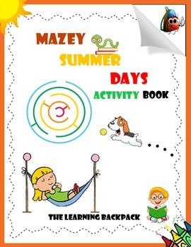 TLB Mazey Summer Days Activity Book