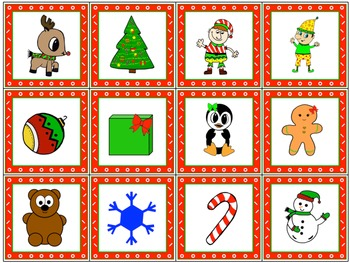 FREE! TLC Christmas Picture Cards