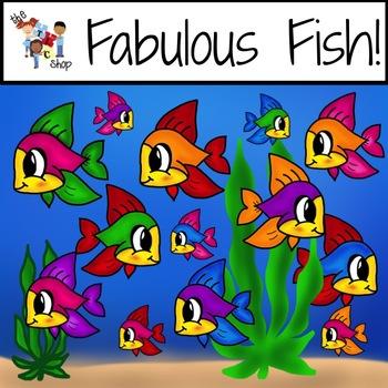 TLC Clip Art - Fabulous Fish