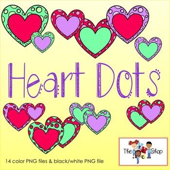 FREE! Heart Dots