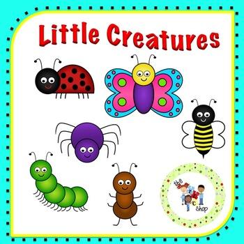Little Creatures Clipart Set