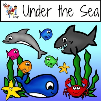 TLC Clip Art - Under the Sea