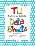 TLI Assessment Data Sheets