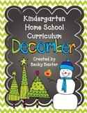 TLL Kindergarten Home School Curriculum- December