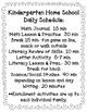 TLL- Kindergarten Home School Curriculum - February