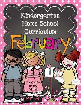 TLL- Kindergarten Home School Curriculum - February