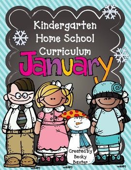 TLL- Kindergarten Home School Curriculum - January
