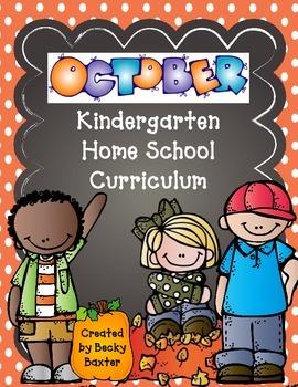 TLL Kindergarten Home School Curriculum- October