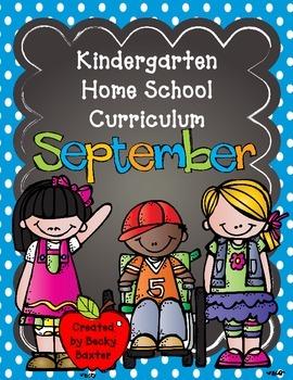 TLL Kindergarten Home School Curriculum- September