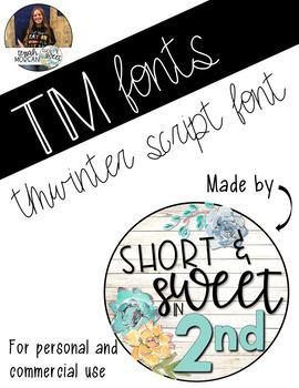 TM Script Font