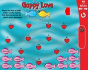 ABC Order: Guppy Love (Grade 3) [Interactive Promethean Version]