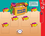 Antonyms: Shiver Me Seashells (Grade 2) [Interactive Promethean Version]