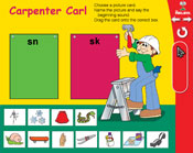 Blends: Carpenter Carl (Grade 1) [Interactive Promethean Version]