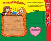 Capitalization: Davy and His Darling (Grade 3) [Interactive Promethean Version]