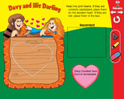 Capitalization: Davy and His Darling (Grade 3) [Interactiv