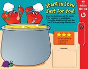 Capitalization: Starfish Stew (Grade 2) [Interactive Prome