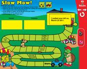 Commas: Slow Mow! (Grade 3) [Interactive Promethean Version]
