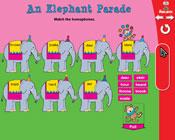 Homophones: An Elephant Parade (Grade 2) [Interactive Promethean Version]