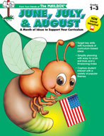 June, July and August Idea Book (Grades 1-3)