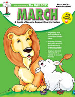 March: A Month of Ideas at Your Fingertips! (PreK-K)