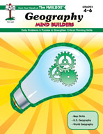 Mind Builders: Geography (Grades 4-6)