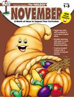 November Idea Book (Grades 1-3)