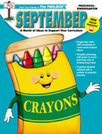 September Idea Book (PreK-K)