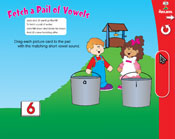 Short Vowels: Fetch a Pail of Vowels (Grade 1) [Interactiv