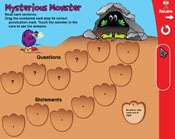 Statements: Mysterious Monster (Grade 2) [Interactive Promethean Version]