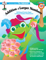 Target Math Success: Addition of Larger Numbers (Grades 2-4)