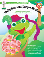 Target Math Success: Multiplication of Larger Numbers (Grades 4-6)